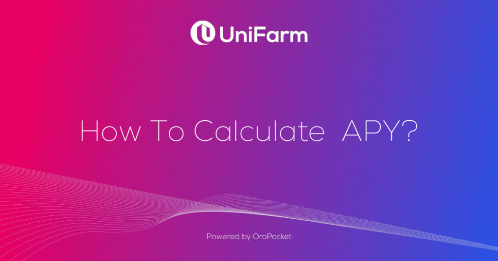 How to calculate APY?