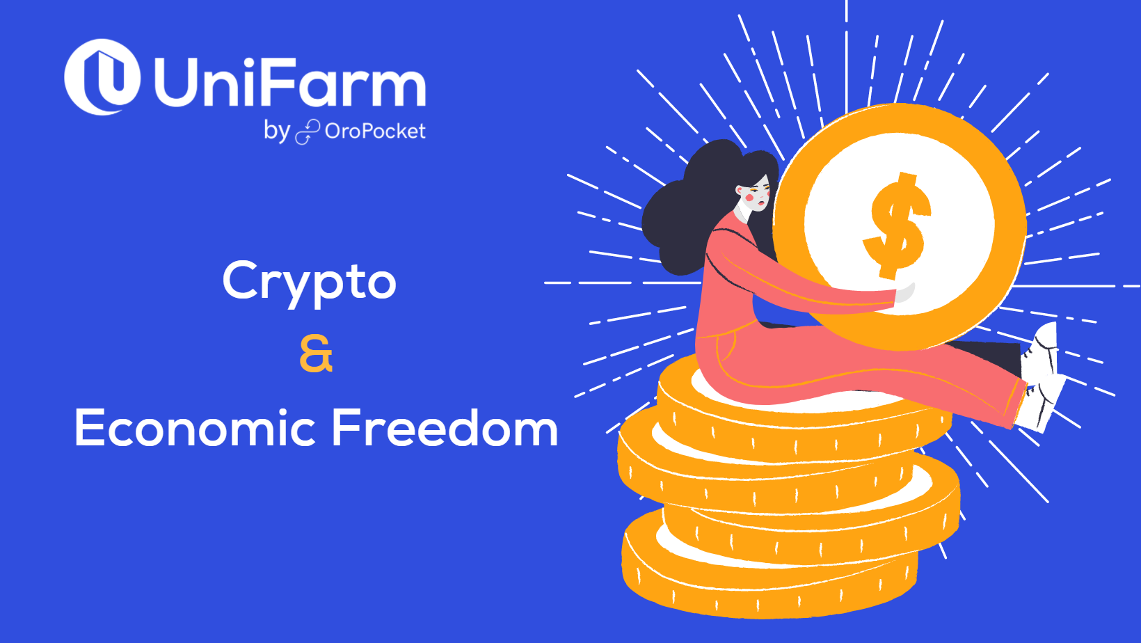 Greater Crypto Adoption Will Lead to Economic Freedom in the World